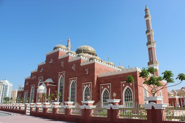 Dubai moskee